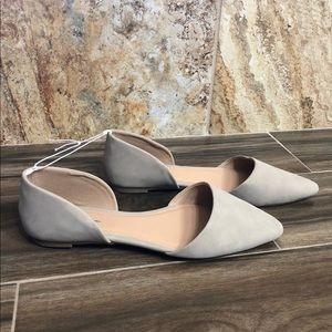 Old Navy D'Orsay Faux Suede Flats